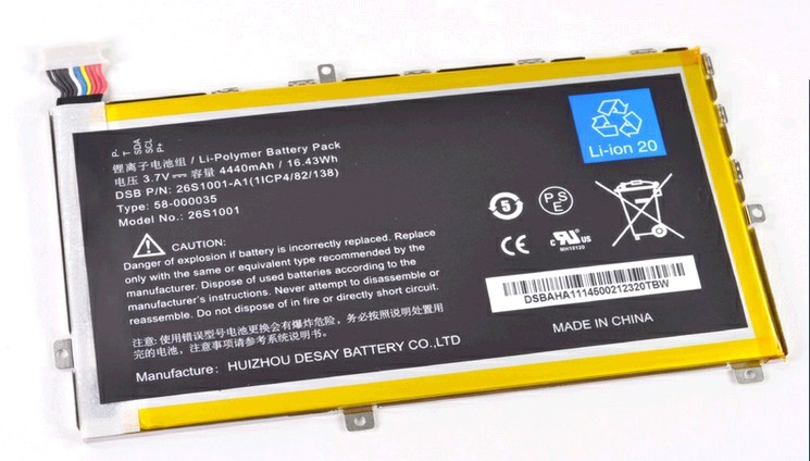 """Amazon Kindle Fire HD 7"""" Battery 26S1001 DR-A014 Hd10"""