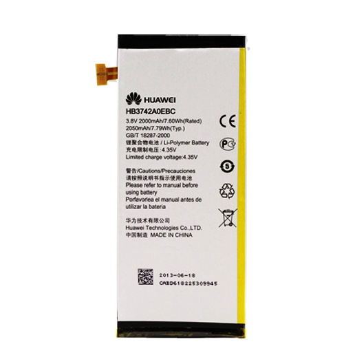 Huawei Ascend P6 Battery HB3742A0EBC ML-HW003 Ml-hw011