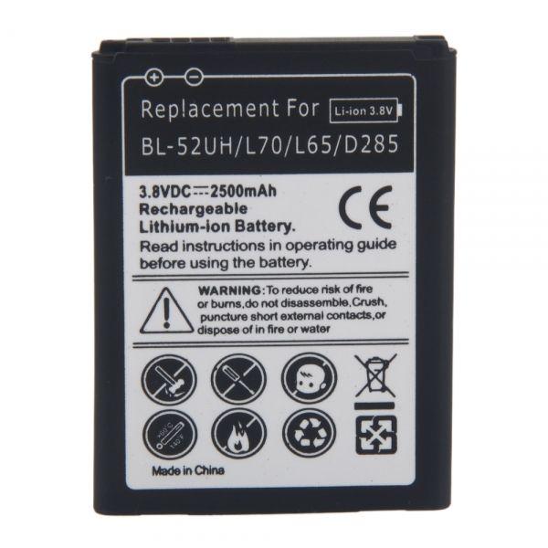 LG Optimus L70 MS323 Battery BL-52UH ML-LG154 Ml-lg117