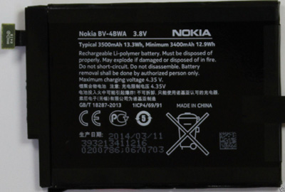 Nokia Lumia 1320 Cell Phone Battery BV-4BWA  Nokia_11
