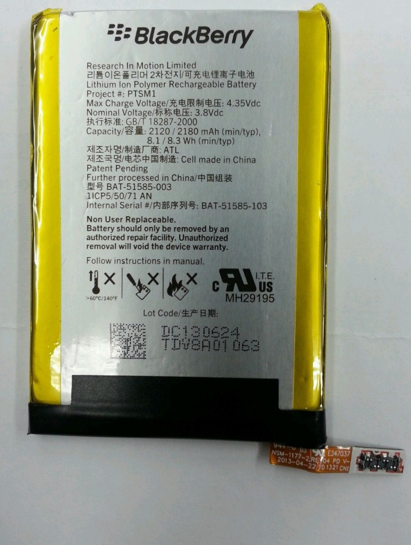 Blackberry Q5 Battery BAT-51585-003 Q510