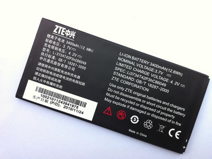 ZTE V9 Battery Li3734T42P3hC86049 V910