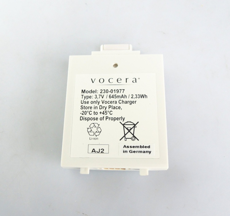 Vocera B3000 Communication Badge Battery 230-01977 Vocera10