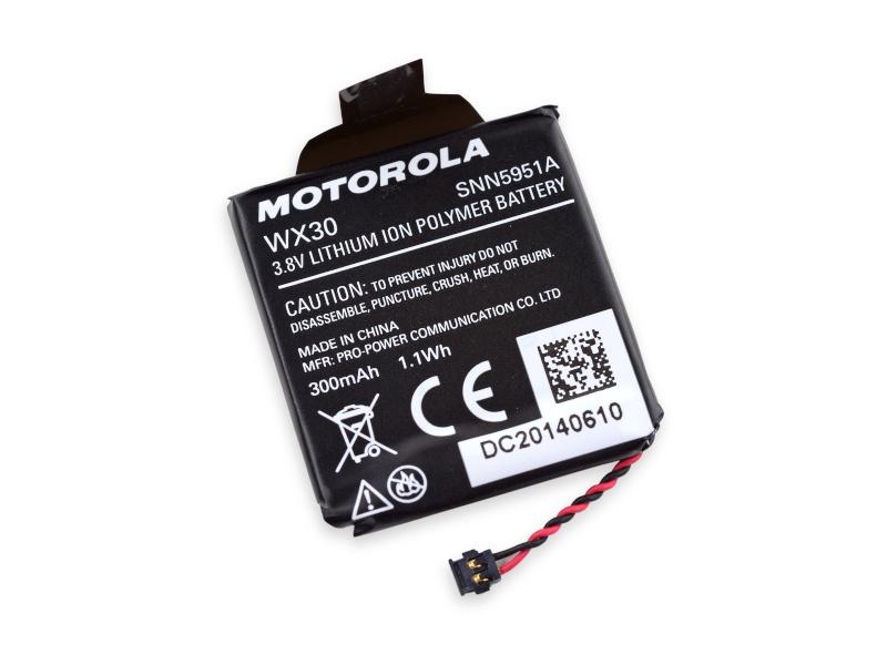 Motorola Moto 360 Battery WX30 SNN5951A Wx3010