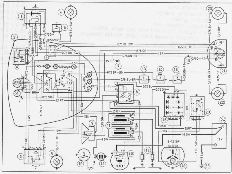 Démarreur électrique de ma R60/5 Bmw-r710