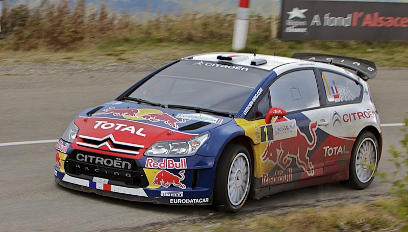 Retour du rallye ALSACE-VOSGES WRC Rallye10
