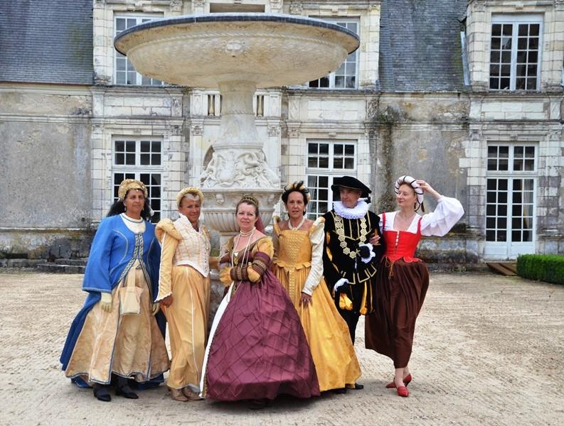 Château de Villesavin, 10 aout 2014, les photos Dsc_4010