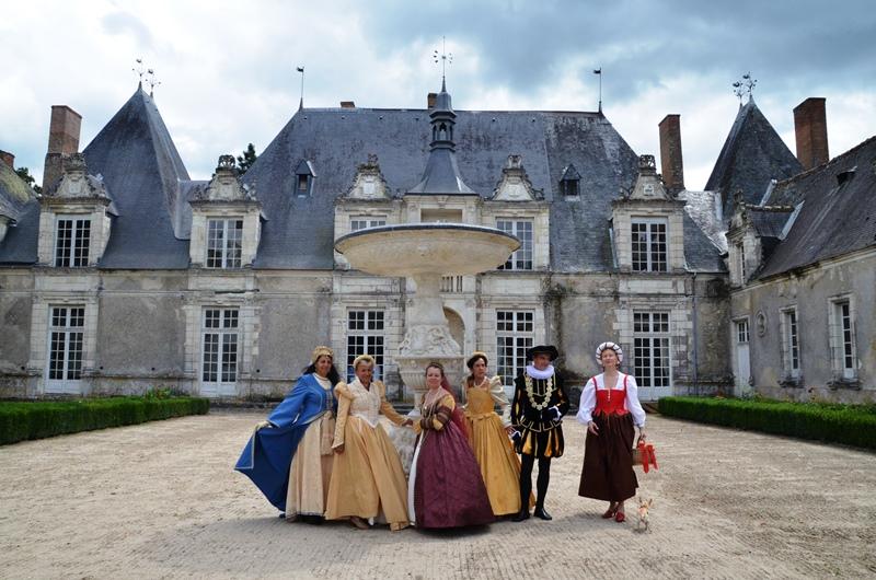 Château de Villesavin, 10 aout 2014, les photos Dsc_4012