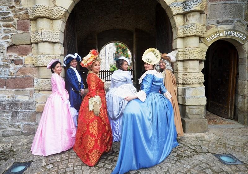 Animation au château de Pompadour, les photos Dsc_4212