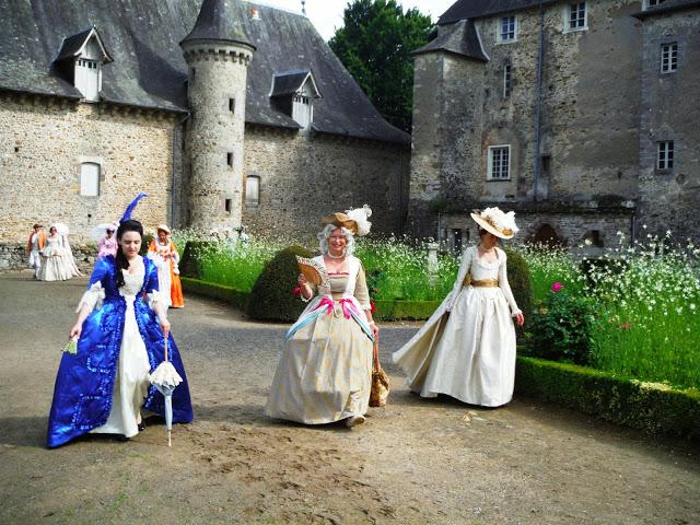 Animation au château de Pompadour, les photos Dscf6711