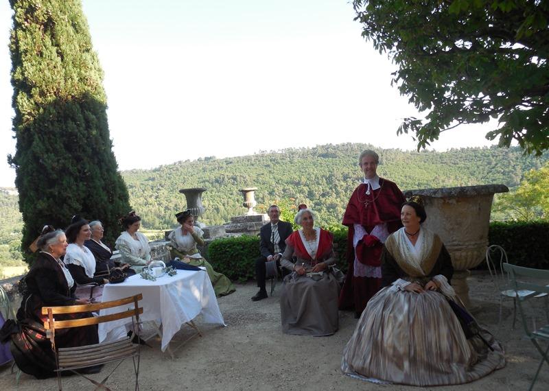 Animation au Chateau d'Ansouis, les photos Dscn0510