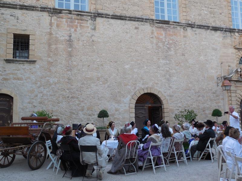 Animation au Chateau d'Ansouis, les photos Dscn0616