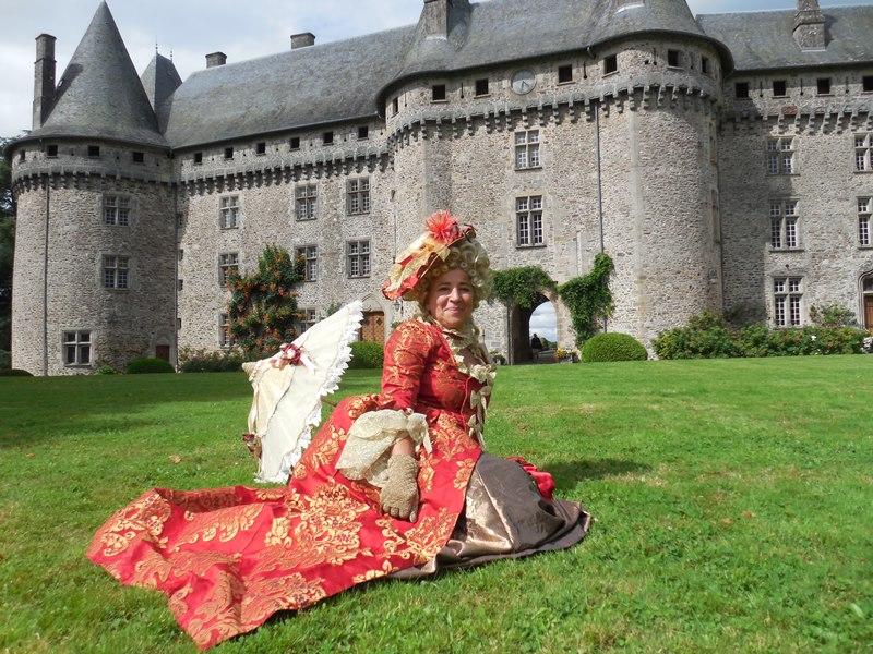 Animation au château de Pompadour, les photos Dscn0810