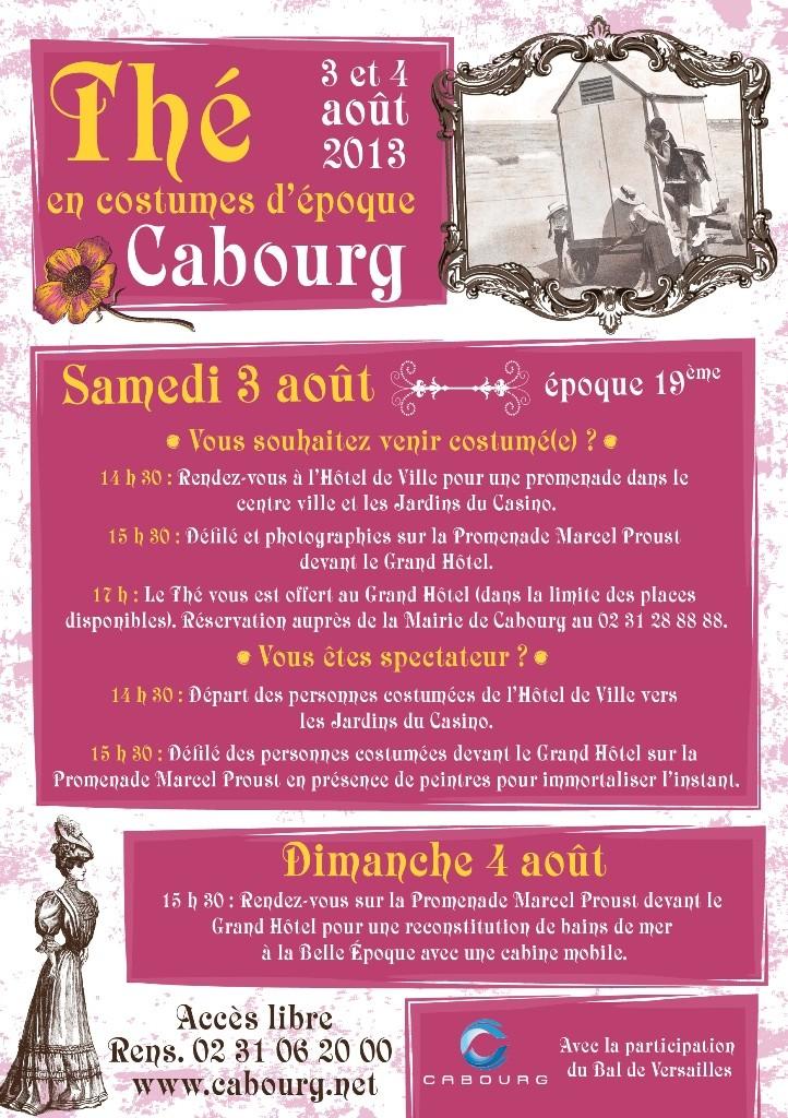 les affiches  du bal de  Versailles, depuis 2002 Flyers12