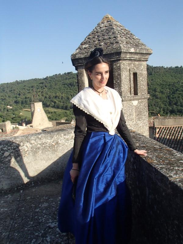 Animation au Chateau d'Ansouis, les photos P6212011