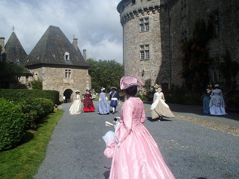 Animation au château de Pompadour, les photos P8150828