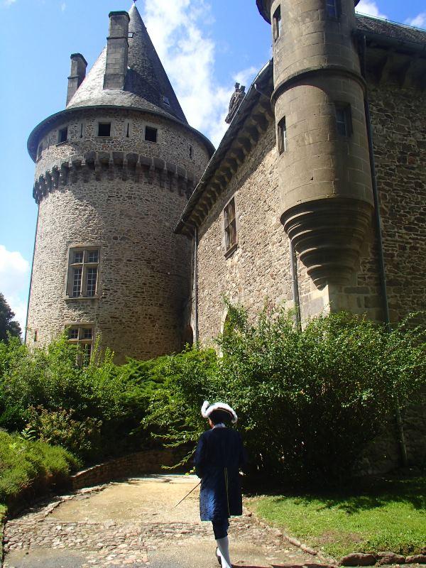 Animation au château de Pompadour, les photos P8150910
