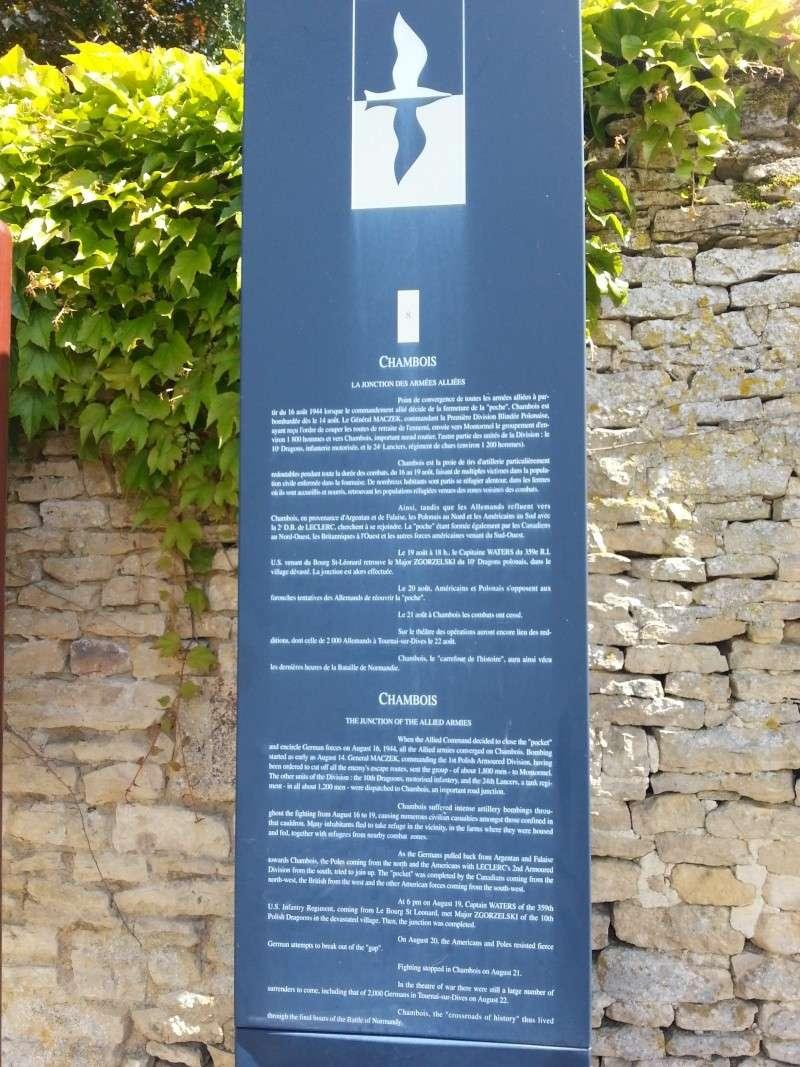 75iéme anniversaire de fermeture de la poche de Falaise /Chambois 20140612