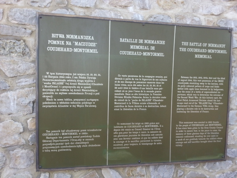 75iéme anniversaire de fermeture de la poche de Falaise /Chambois 20140613