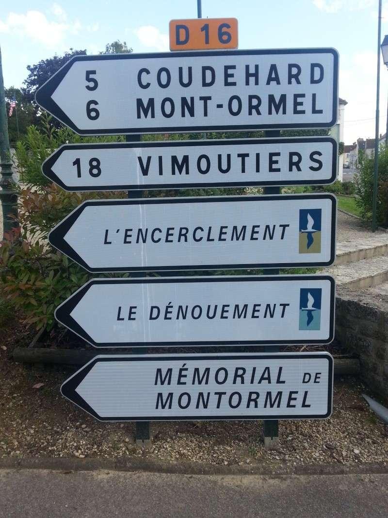 75iéme anniversaire de fermeture de la poche de Falaise /Chambois 20140614