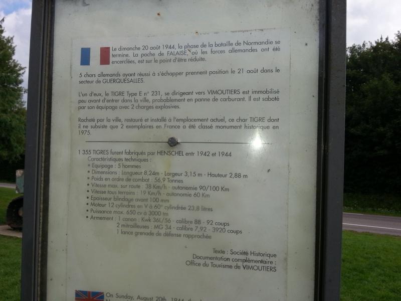 75iéme anniversaire de fermeture de la poche de Falaise /Chambois 20140831