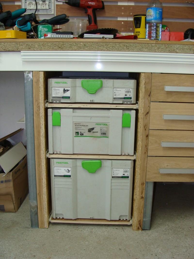 Fabrication de tiroir pour atelier : quelle méthode d'assemblage 130-1011