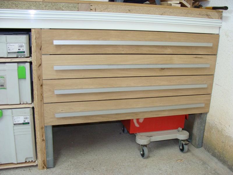 Fabrication de tiroir pour atelier : quelle méthode d'assemblage 131-1010