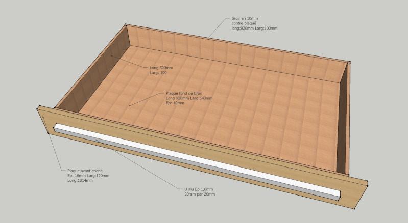 Fabrication de tiroir pour atelier : quelle méthode d'assemblage Tiroir11