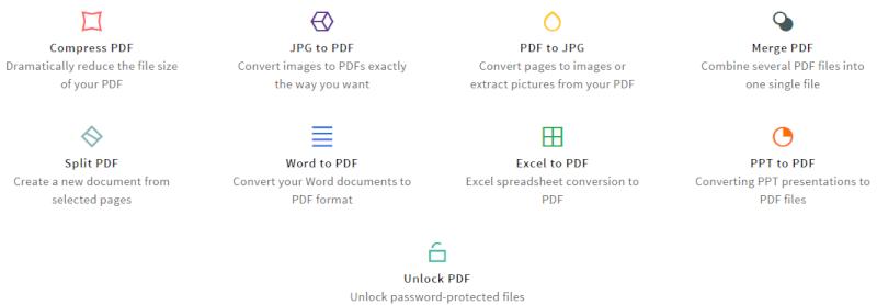 شرح تحويل (صور + word + excel ..) من وإلى PDF  مع إمكانية تصغير حجم ملفات PDF Screen14