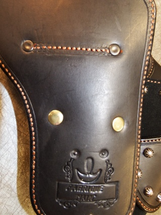 """COWBOY ACTION SHOOTING """"ROUGH OUT"""" HOLSTER by SLYE Dscf0084"""