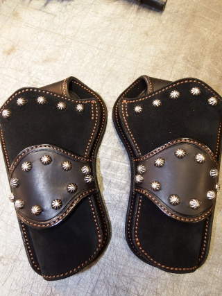 """COWBOY ACTION SHOOTING """"ROUGH OUT"""" HOLSTER by SLYE Dscf0088"""