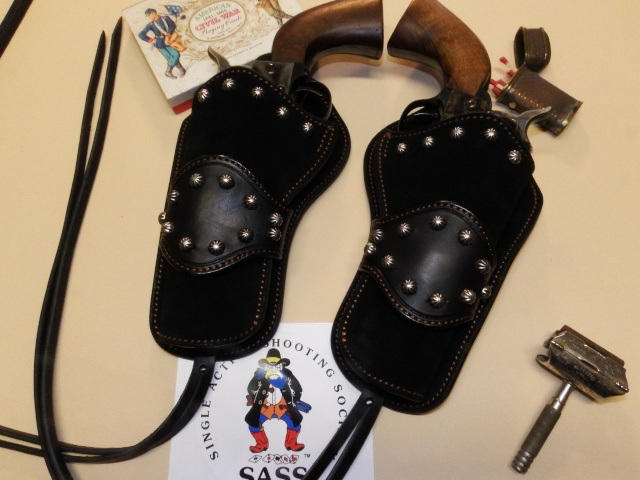 """COWBOY ACTION SHOOTING """"ROUGH OUT"""" HOLSTER by SLYE Dscf0089"""