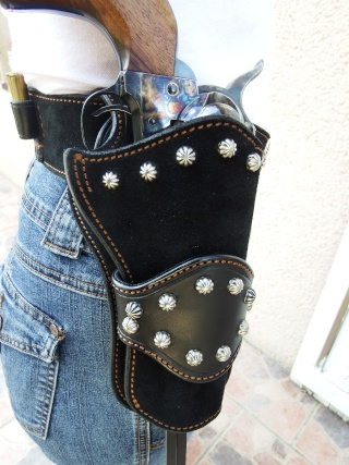 """COWBOY ACTION SHOOTING """"ROUGH OUT"""" HOLSTER by SLYE Dscf0097"""