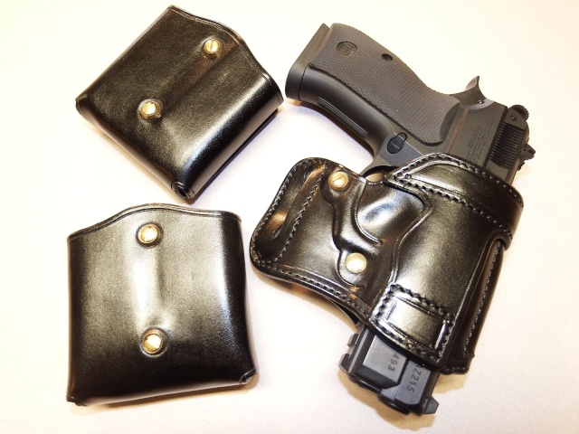 "HOLSTER AMBIDEXTRE : le ""PRACTIC"" by SLYE Dscf0131"