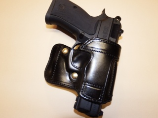 "HOLSTER AMBIDEXTRE : le ""PRACTIC"" by SLYE Dscf0132"