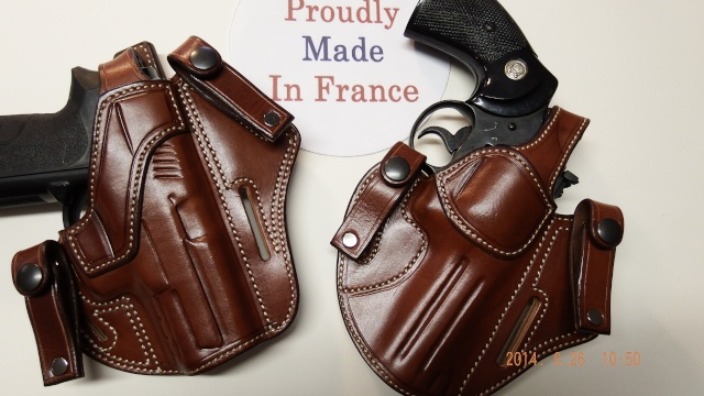 "HOLSTERS INSIDE ""KIDNEY"" pour autos et révolvers by SLYE Holste13"