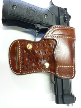 "HOLSTER AMBIDEXTRE : le ""PRACTIC"" by SLYE P1150413"