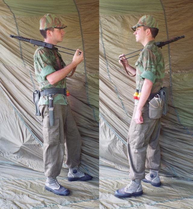 Voltigeur du commando de chasse du 1er bataillon du 12ème RAAMa dans l'Algérois (1959) 54949810