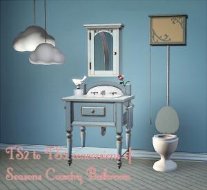 Ванные комнаты (деревенский стиль) Imag1421