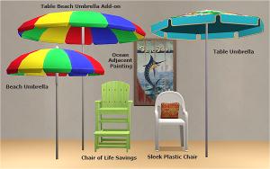 Декор для бассейна, пляжа Image547