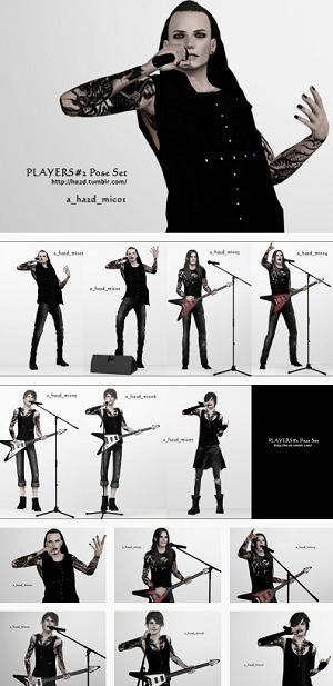 Танцевальные позы, пение - Страница 4 Image909