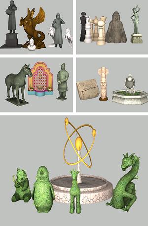Фонтаны, статуи - Страница 3 Image_81