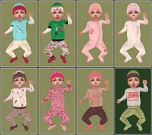 Одежда для младенцев (дефолты) - Страница 5 Light105
