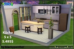 Кухни, столовые (готовые комнаты) Light116