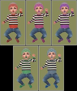 Одежда для младенцев (дефолты) - Страница 5 Light138