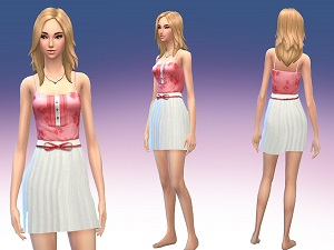 Повседневная одежда (платья, туники)  Light143