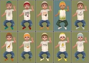 Одежда для младенцев (дефолты) - Страница 5 Light149