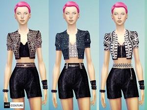 Повседневная одежда (комплекты с брюками, шортами)   Light175