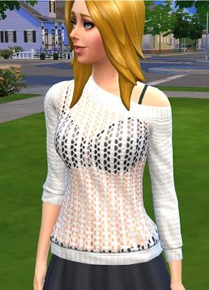 Повседневная одежда (топы, рубашки, свитера) Light192