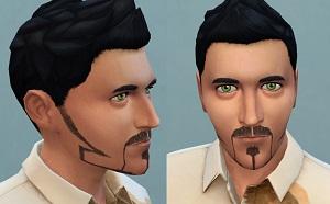 Борода, щетина Light204